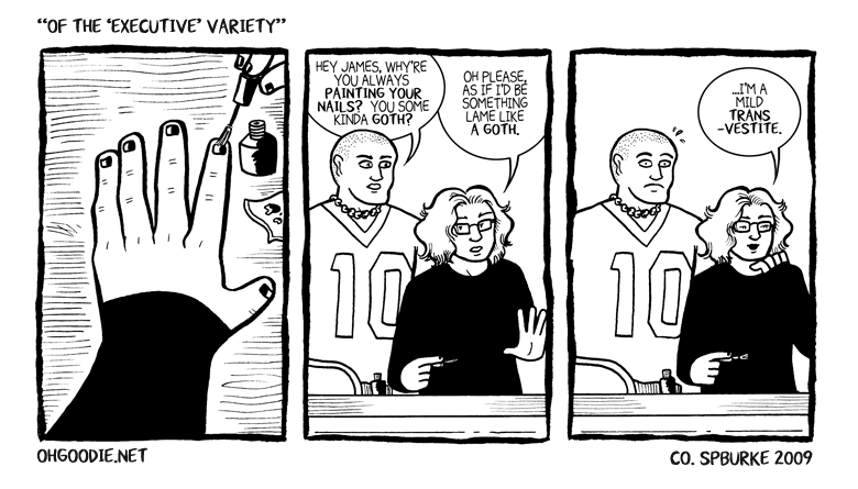 "#010 – ""Of The 'Executive' Variety"" *"