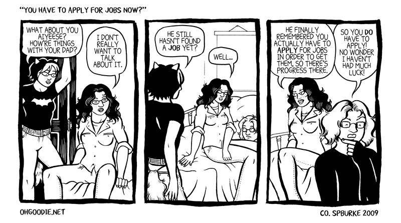 "#032 – ""You Have To Apply For Jobs Now?"""