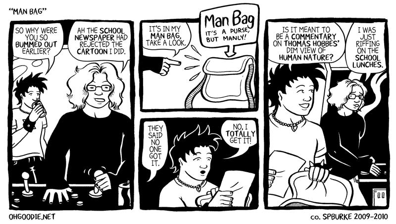 "#047 – ""Man Bag"""