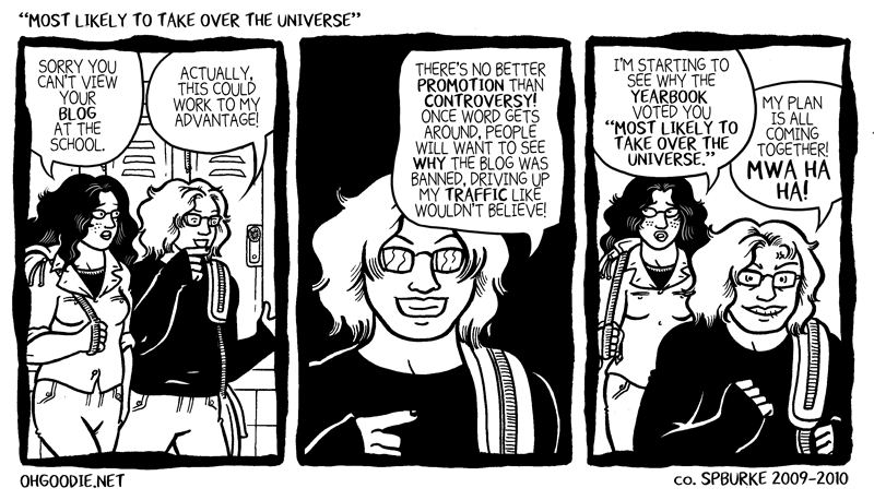 "#072 – ""Most Likely to Take Over the Universe"""