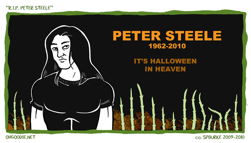 "B-Side #005 – ""R.I.P. Peter Steele"""