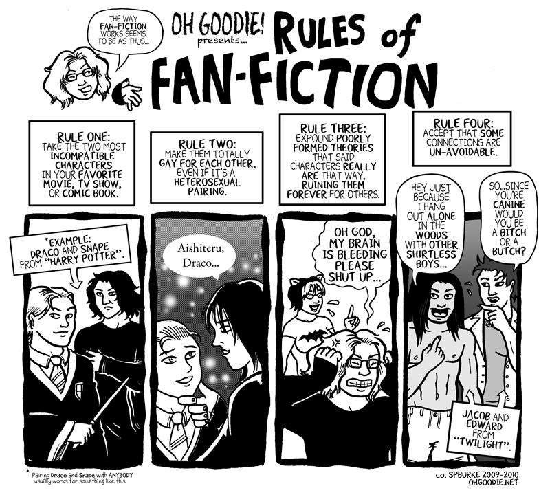 """#091 – """"Rules for Fan-Fiction"""""""