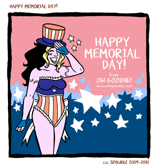 "Holiday Special #4 – ""Happy Memorial Day!"""