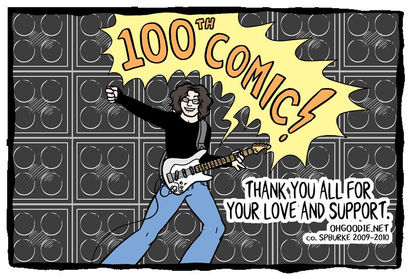 """#100 – """"100 COMICS!!!"""""""