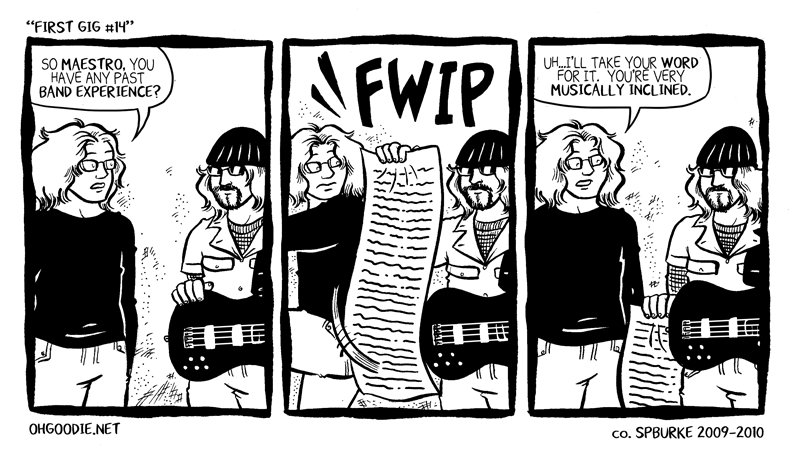 "#124 – ""First Gig #14"""