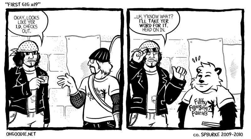 "#129 – ""First Gig #19"""