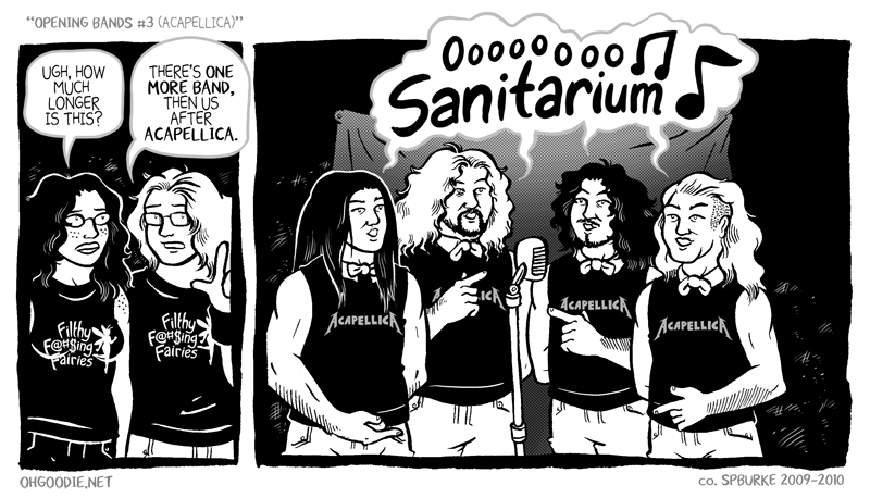 "#133 – ""Opening Bands #3 (Acapellica)"""