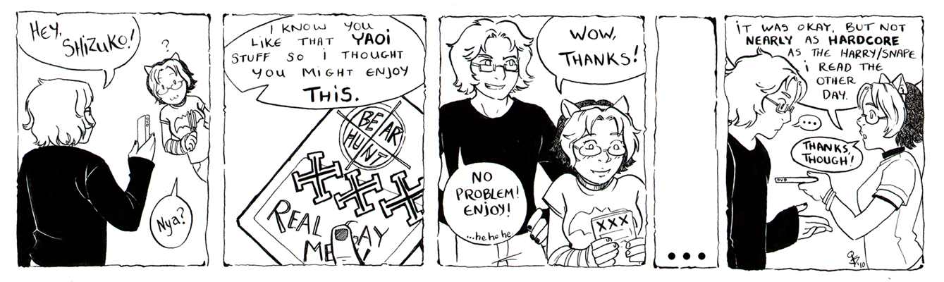 Guest strip by Dusty + Jade