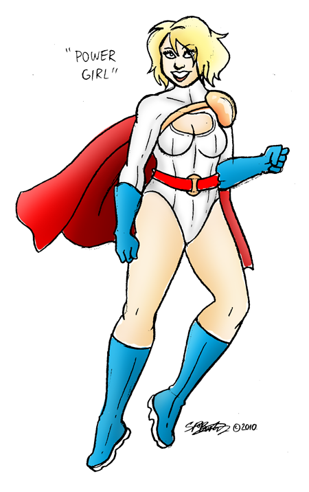 "Sketch Week #15: ""Power Girl"""