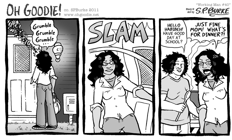 "#205 – ""Working Man #40"""