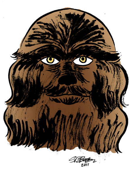 "Sketch Week #22 – ""Wookiee"""