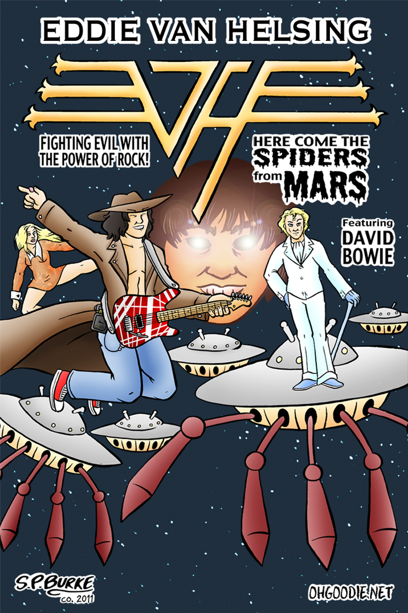 EVH vs Spiders From Mars