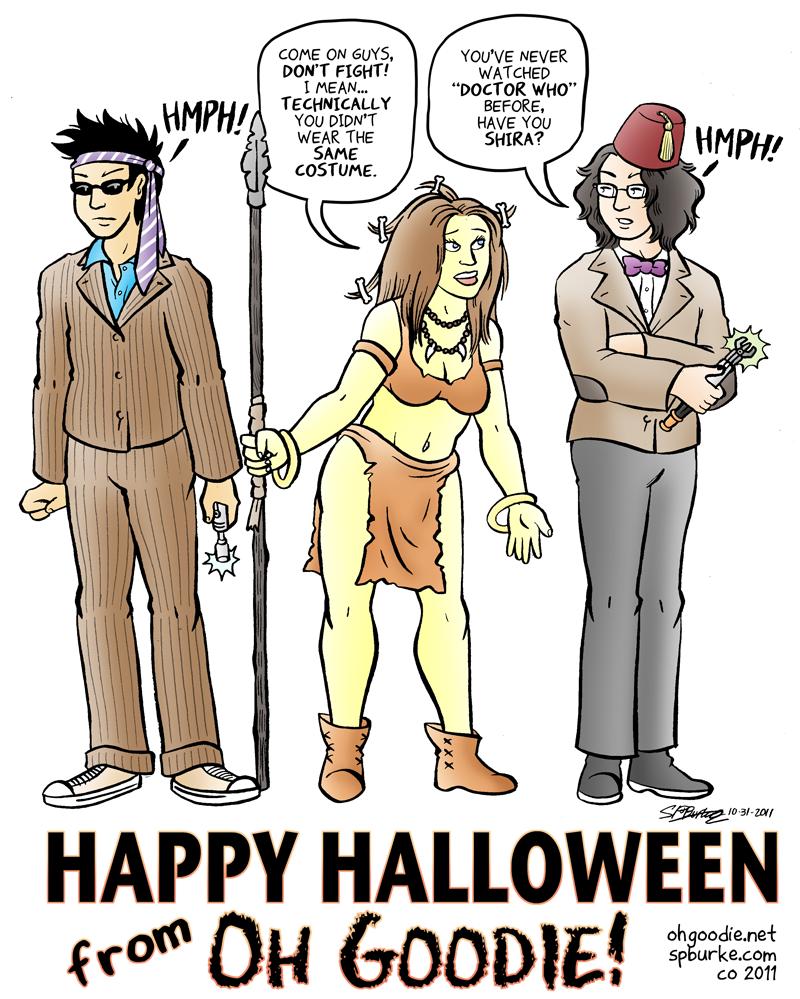 """Same Costume"" – Halloween 2011"