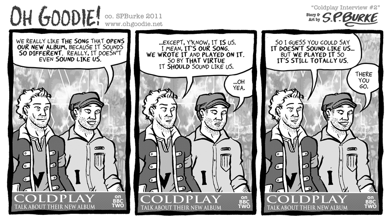 B-Side: Coldplay Interview #2