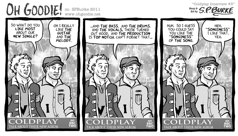 B-Side: Coldplay Interview #3