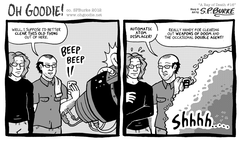 "#330 – ""A Ray of Death #16"""