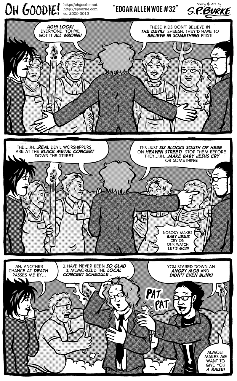 """#372 – """"Edgar Allen Woe #32"""""""