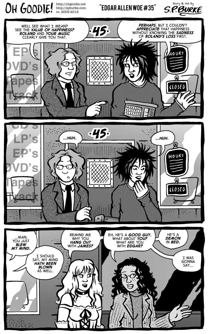 """#375 – """"Edgar Allen Woe #35"""""""