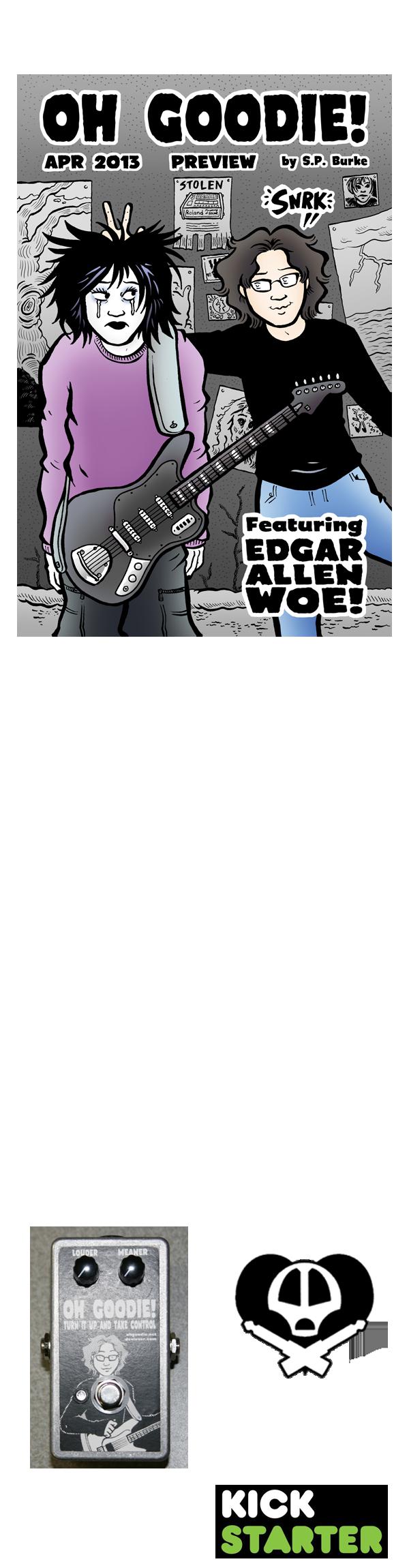 """""""Edgar Allen Woe"""" Kickstarter!"""