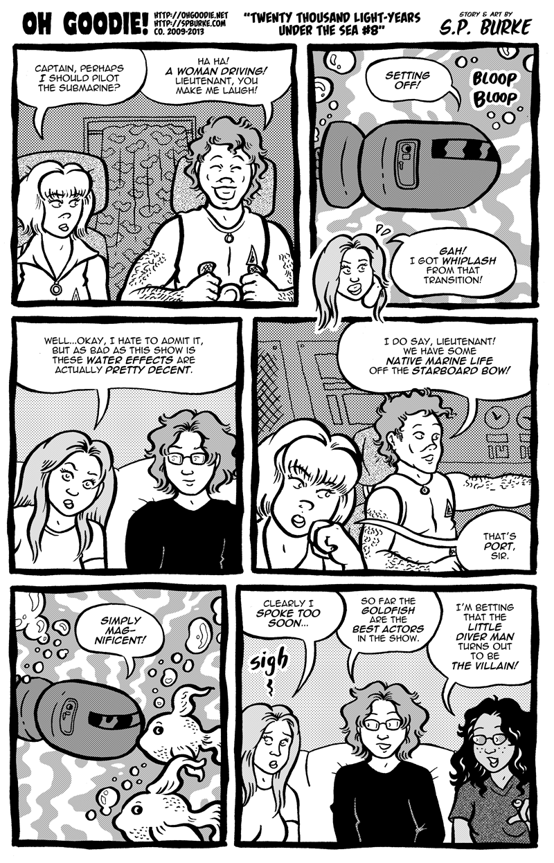 "#417 – ""Twenty Thousand Light-Years Under The Sea #8"""