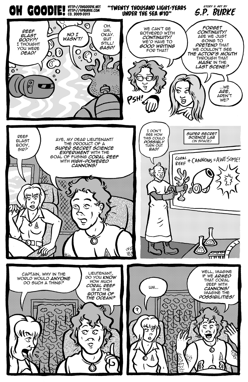 "#419 – ""Twenty Thousand Light-Years Under The Sea #10"""
