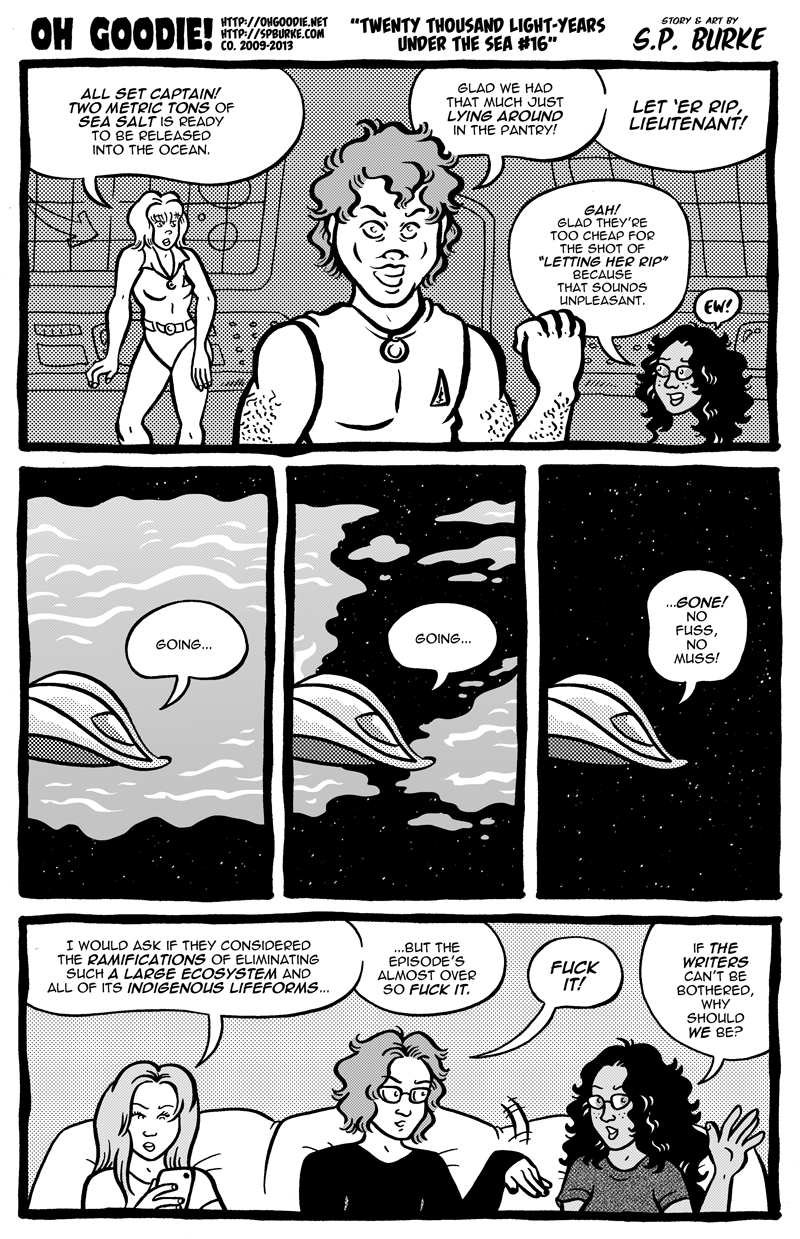 "#425 – ""Twenty Thousand Light-Years Under The Sea #16"""