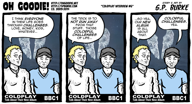 "#451 – ""Coldplay Interview #6"""