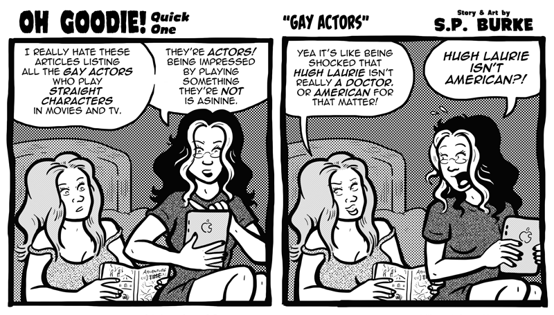 "Quick One #13 – ""Gay Actors"""