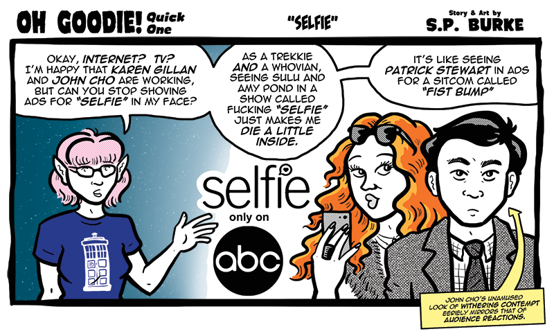 "Quick One #15 – ""Selfie"""