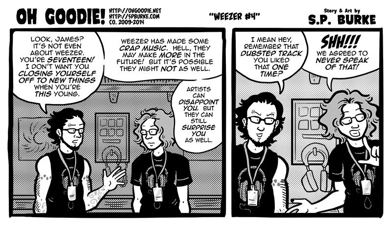 """#484 – """"Weezer #4"""""""