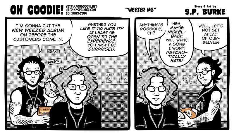 """#486 – """"Weezer #6"""""""
