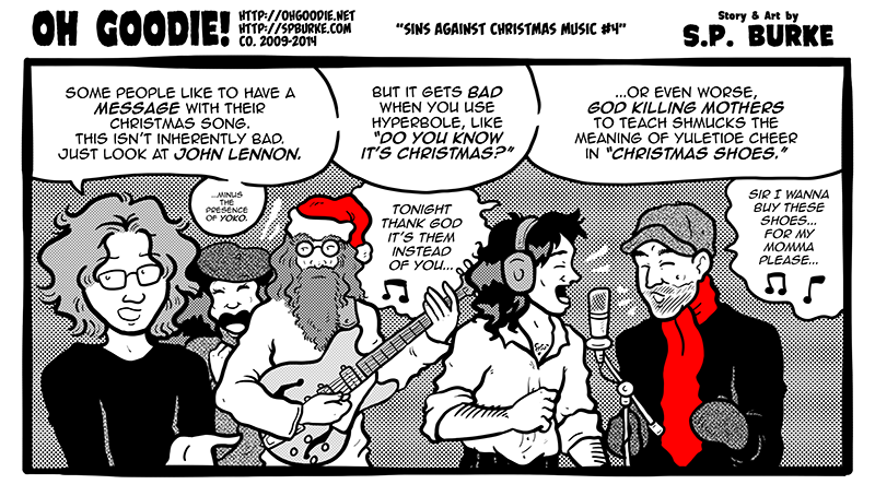 "#498 – ""Sins Against Christmas Music #4"""