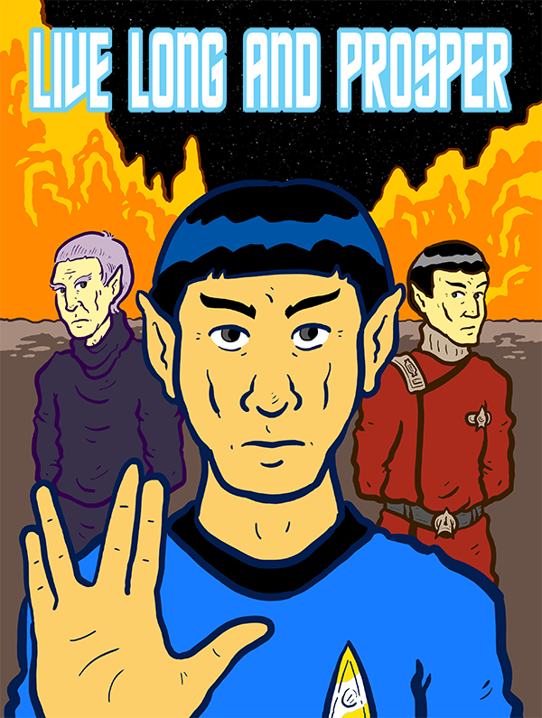 """Live Long And Prosper"" (Leonard Nimoy Tribute)"