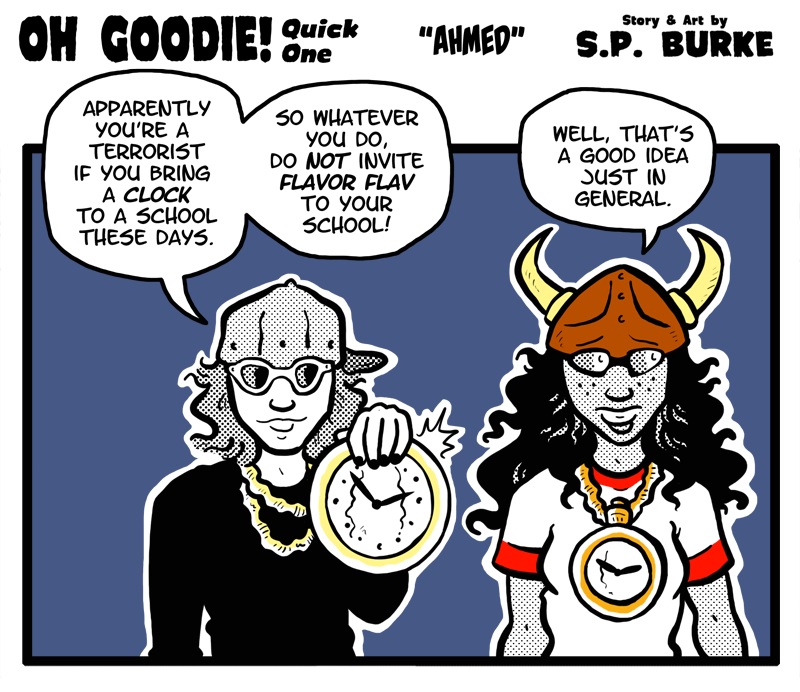 "Quick One #23 – ""Flavor Flav (Ahmed)"""